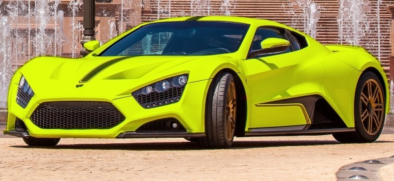 Car-Revs-Daily.com EXCLUSIVE 2014 ZENVO ST1 Colorizer Drafts 6