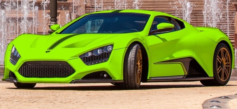 Car-Revs-Daily.com EXCLUSIVE 2014 ZENVO ST1 Colorizer Drafts 8