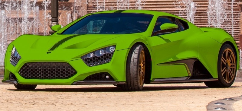 Car-Revs-Daily.com EXCLUSIVE 2014 ZENVO ST1 Colorizer Drafts 9