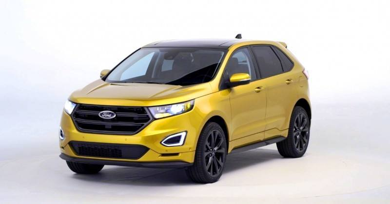 Car-Revs-Daily.com EXTERIOR GALLERY 2015 Ford Edge 45