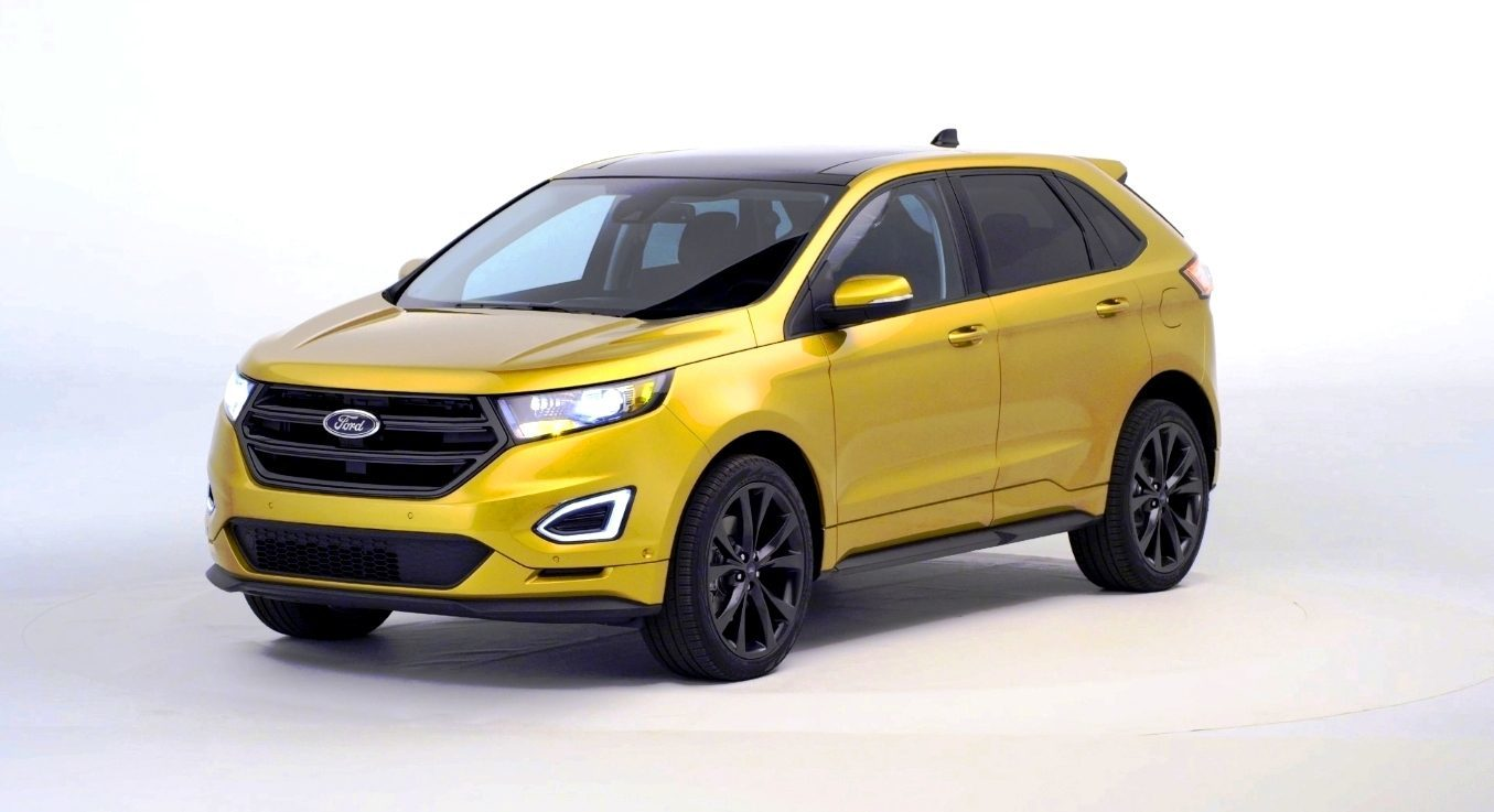 2015 ford edge debut in 200 photos standard ecoboost. Black Bedroom Furniture Sets. Home Design Ideas