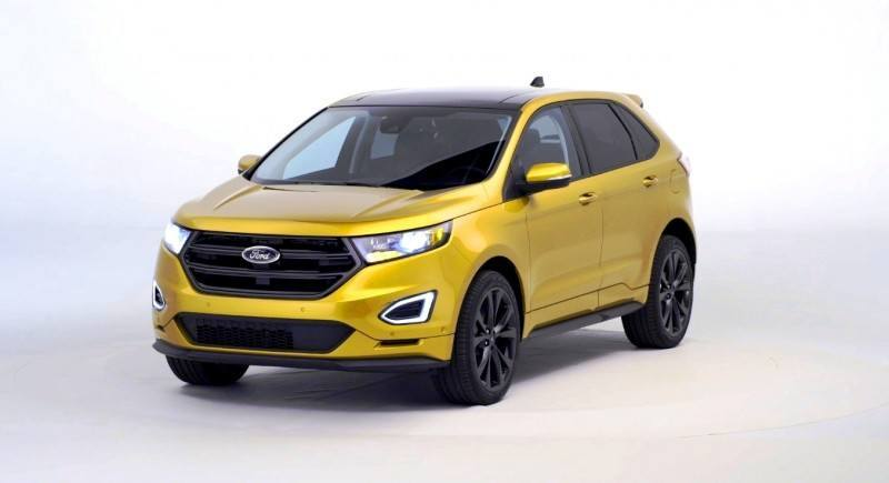 Car-Revs-Daily.com EXTERIOR GALLERY 2015 Ford Edge 60