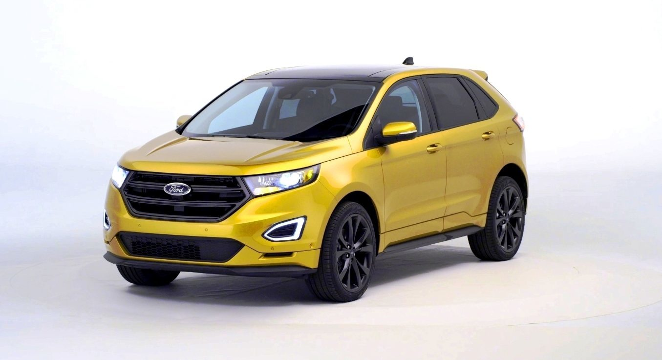 Car Revs Exterior Gallery 2015 Ford Edge 61
