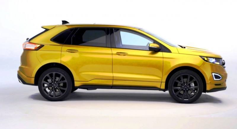 Car-Revs-Daily.com EXTERIOR GALLERY 2015 Ford Edge 73