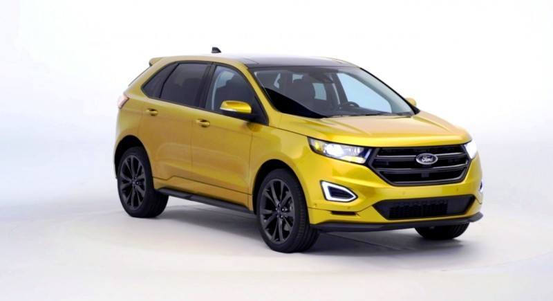 Car-Revs-Daily.com EXTERIOR GALLERY 2015 Ford Edge 75