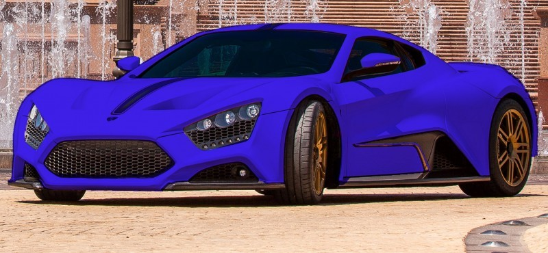 Car-Revs-Daily.com Exclusive 2014 ZENVO ST1 Colorizer 12