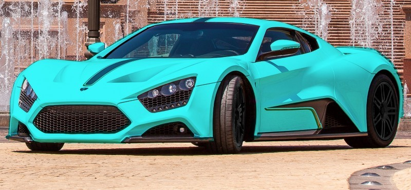 Car-Revs-Daily.com Exclusive 2014 ZENVO ST1 Colorizer 4