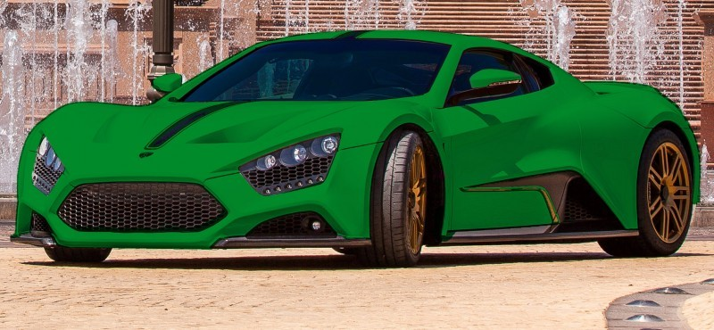 Car-Revs-Daily.com Exclusive 2014 ZENVO ST1 Colorizer 5