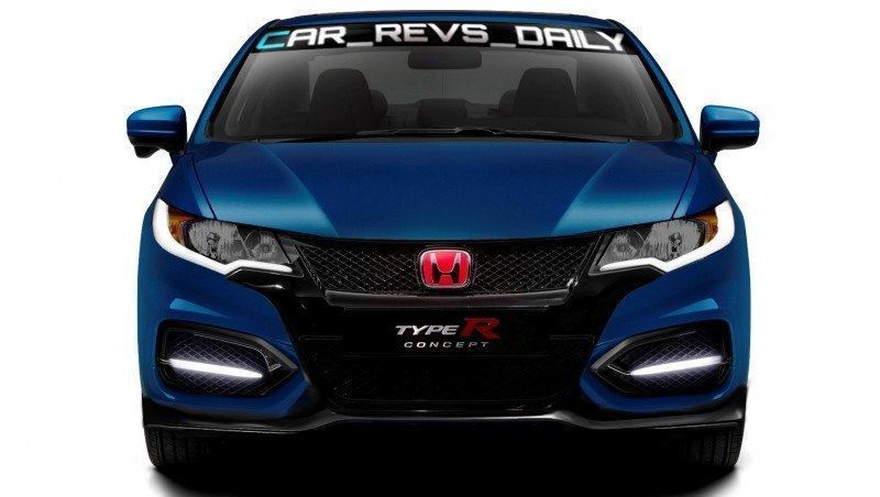 Car-Revs-Daily.com Exclusive 2016 USA Honda Civic Type R Renderings 4