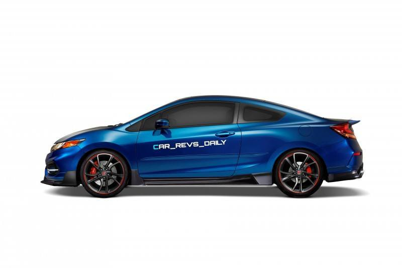 Car-Revs-Daily.com Exclusive 2016 USA Honda Civic Type R Renderings 6