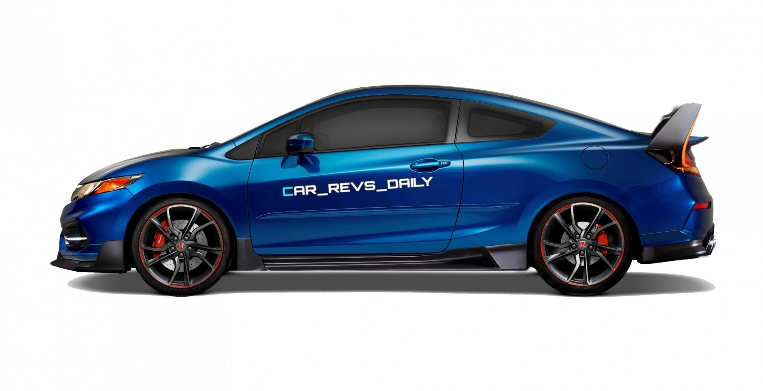 2016 usa honda civic type r renderings. Black Bedroom Furniture Sets. Home Design Ideas