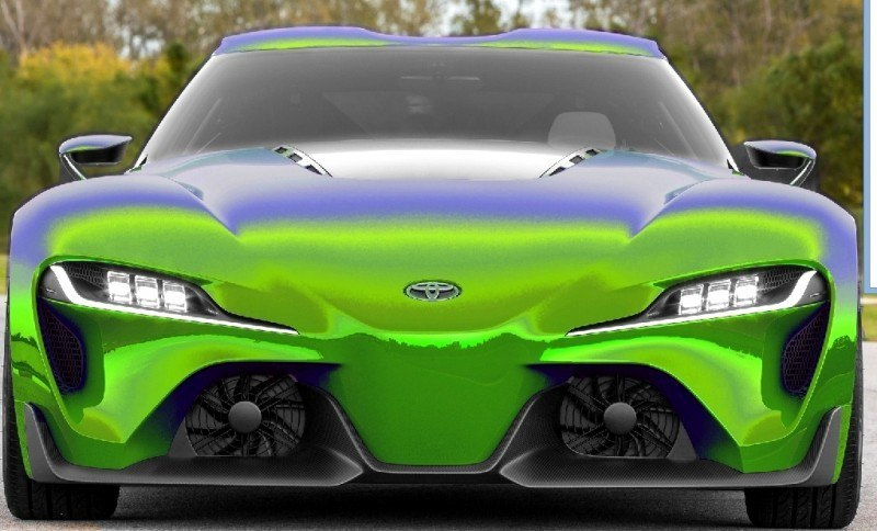 Car-Revs-Daily.com FT-1 Digital Colorizer - 150 Shades of 2016 TOYOTA SUPRA TURBO 10