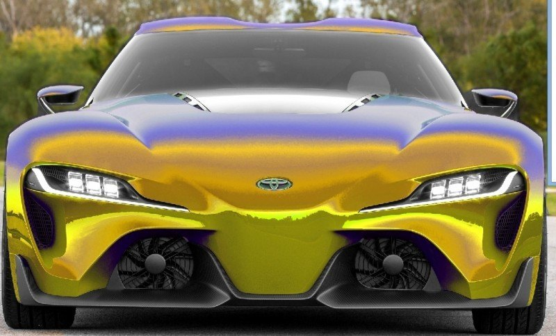 Car-Revs-Daily.com FT-1 Digital Colorizer - 150 Shades of 2016 TOYOTA SUPRA TURBO 11