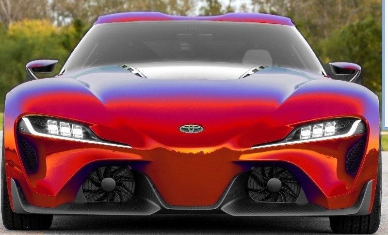 Car-Revs-Daily.com FT-1 Digital Colorizer - 150 Shades of 2016 TOYOTA SUPRA TURBO 13