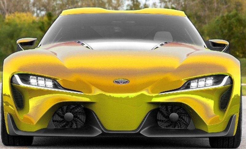 Car-Revs-Daily.com FT-1 Digital Colorizer - 150 Shades of 2016 TOYOTA SUPRA TURBO 17