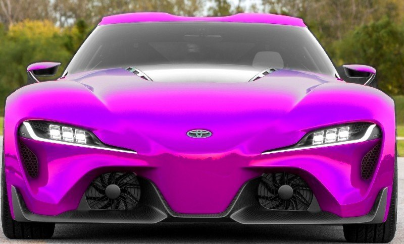 Car-Revs-Daily.com FT-1 Digital Colorizer - 150 Shades of 2016 TOYOTA SUPRA TURBO 27