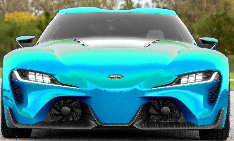 Car-Revs-Daily.com FT-1 Digital Colorizer - 150 Shades of 2016 TOYOTA SUPRA TURBO 36