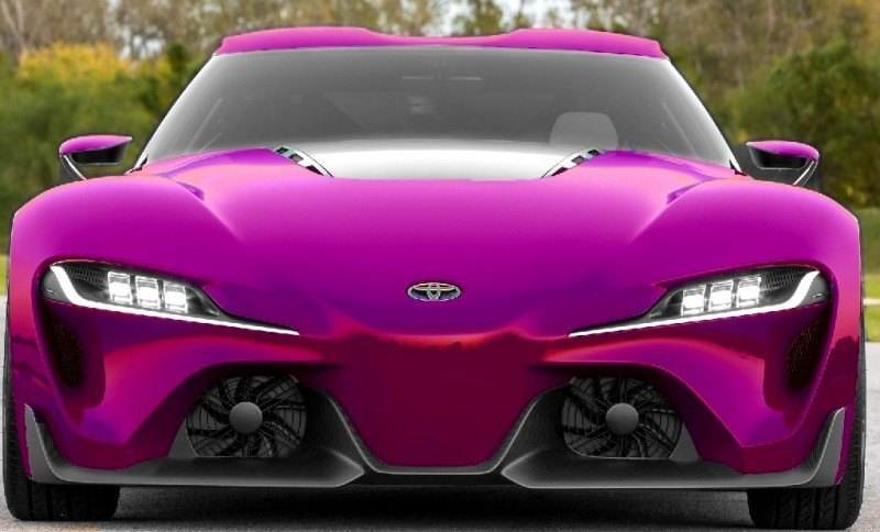Car-Revs-Daily.com FT-1 Digital Colorizer - 150 Shades of 2016 TOYOTA SUPRA TURBO 44