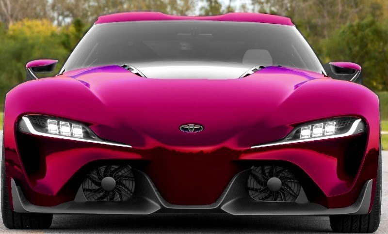 Car-Revs-Daily.com FT-1 Digital Colorizer - 150 Shades of 2016 TOYOTA SUPRA TURBO 45