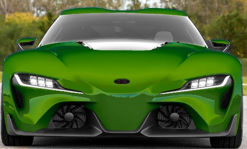 Car-Revs-Daily.com FT-1 Digital Colorizer - 150 Shades of 2016 TOYOTA SUPRA TURBO 47