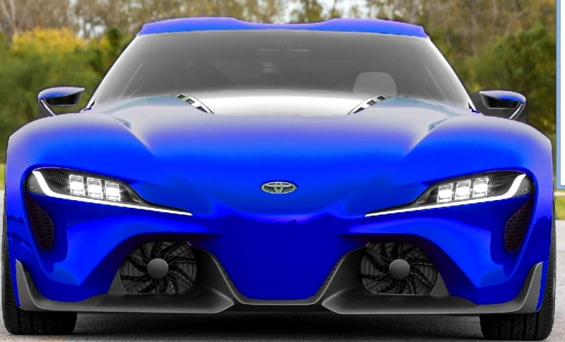 Car-Revs-Daily.com FT-1 Digital Colorizer - 150 Shades of 2016 TOYOTA SUPRA TURBO 5