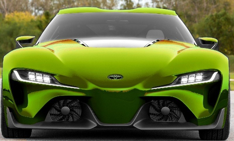 Car-Revs-Daily.com FT-1 Digital Colorizer - 150 Shades of 2016 TOYOTA SUPRA TURBO 52