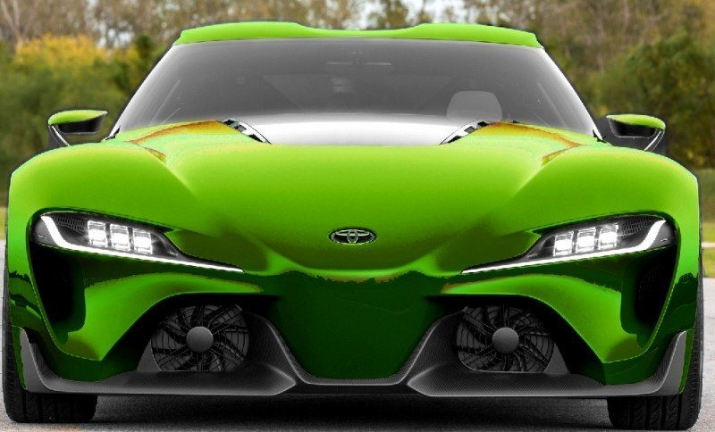 Car-Revs-Daily.com FT-1 Digital Colorizer - 150 Shades of 2016 TOYOTA SUPRA TURBO 53