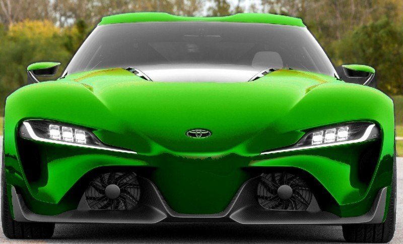 Car-Revs-Daily.com FT-1 Digital Colorizer - 150 Shades of 2016 TOYOTA SUPRA TURBO 54