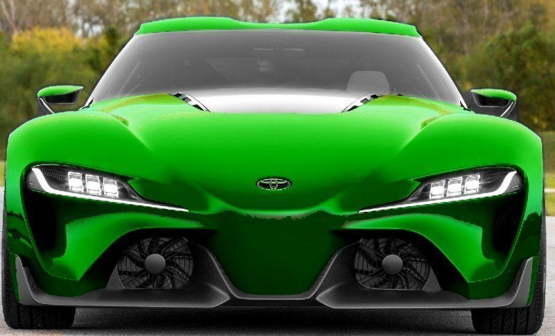 Car-Revs-Daily.com FT-1 Digital Colorizer - 150 Shades of 2016 TOYOTA SUPRA TURBO 55