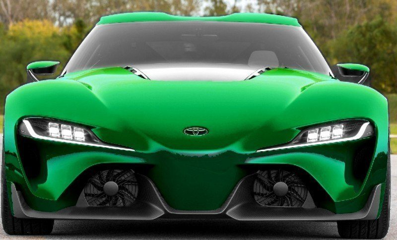 Car-Revs-Daily.com FT-1 Digital Colorizer - 150 Shades of 2016 TOYOTA SUPRA TURBO 56