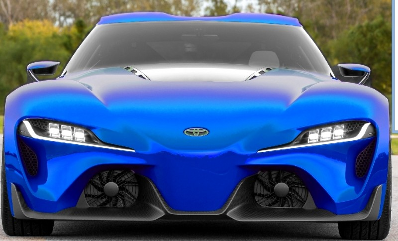 Car-Revs-Daily.com FT-1 Digital Colorizer - 150 Shades of 2016 TOYOTA SUPRA TURBO 6