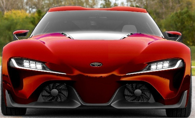 Car-Revs-Daily.com FT-1 Digital Colorizer - 150 Shades of 2016 TOYOTA SUPRA TURBO 61