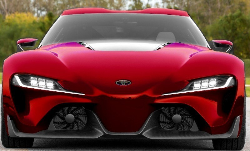 Car-Revs-Daily.com FT-1 Digital Colorizer - 150 Shades of 2016 TOYOTA SUPRA TURBO 62