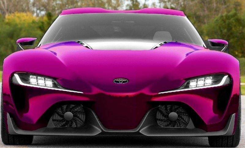 Car-Revs-Daily.com FT-1 Digital Colorizer - 150 Shades of 2016 TOYOTA SUPRA TURBO 64