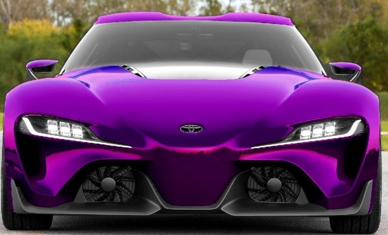 Car-Revs-Daily.com FT-1 Digital Colorizer - 150 Shades of 2016 TOYOTA SUPRA TURBO 66