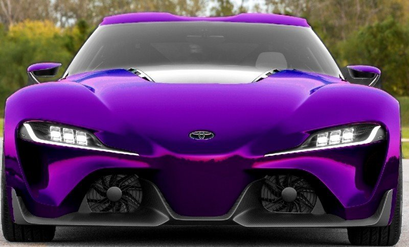 Car-Revs-Daily.com FT-1 Digital Colorizer - 150 Shades of 2016 TOYOTA SUPRA TURBO 67