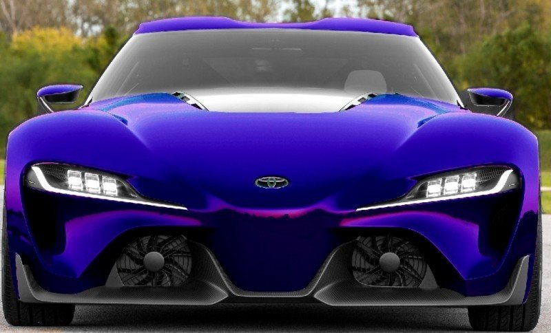 Car-Revs-Daily.com FT-1 Digital Colorizer - 150 Shades of 2016 TOYOTA SUPRA TURBO 69