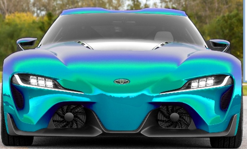 Car-Revs-Daily.com FT-1 Digital Colorizer - 150 Shades of 2016 TOYOTA SUPRA TURBO 7