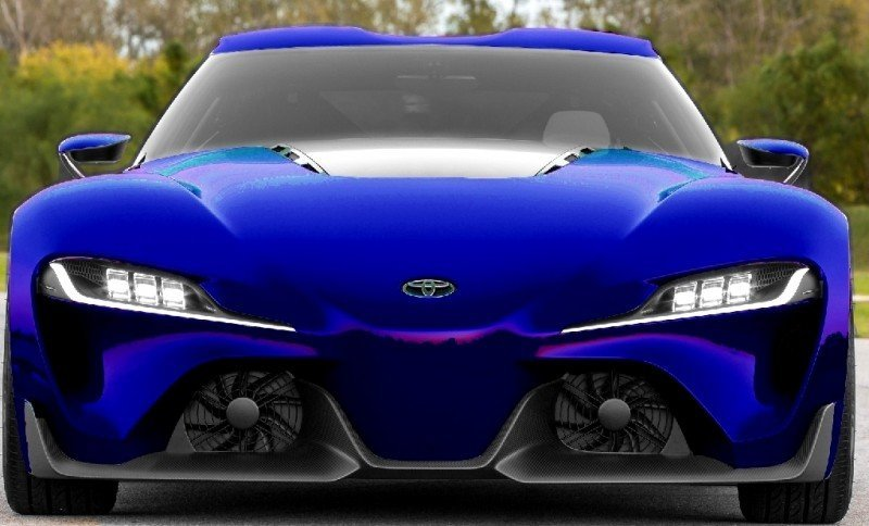 Car-Revs-Daily.com FT-1 Digital Colorizer - 150 Shades of 2016 TOYOTA SUPRA TURBO 70