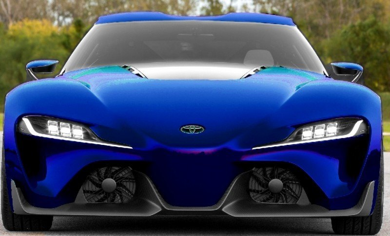 Car-Revs-Daily.com FT-1 Digital Colorizer - 150 Shades of 2016 TOYOTA SUPRA TURBO 71