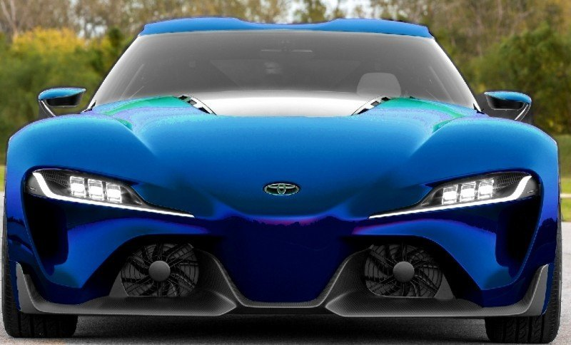Car-Revs-Daily.com FT-1 Digital Colorizer - 150 Shades of 2016 TOYOTA SUPRA TURBO 72