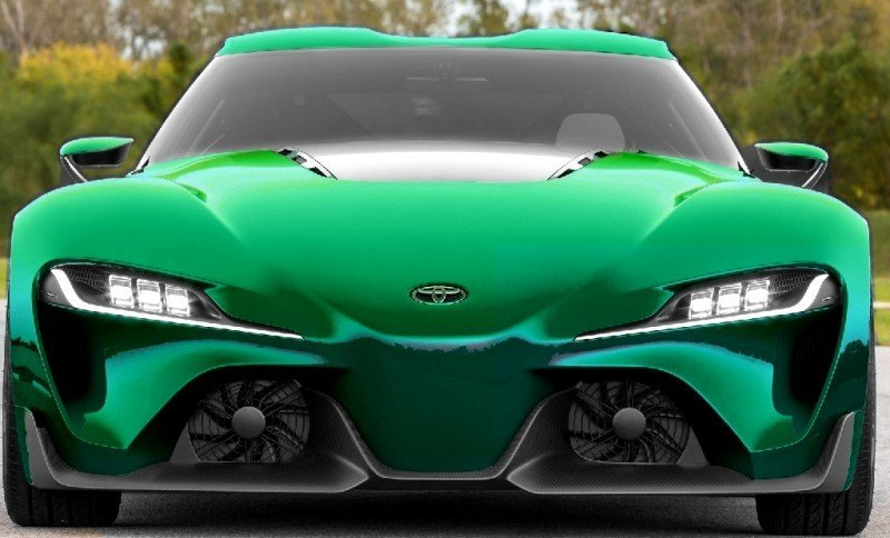 Car-Revs-Daily.com FT-1 Digital Colorizer - 150 Shades of 2016 TOYOTA SUPRA TURBO 76