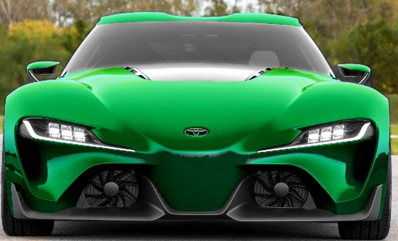 Car-Revs-Daily.com FT-1 Digital Colorizer - 150 Shades of 2016 TOYOTA SUPRA TURBO 78