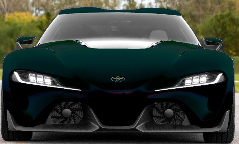 Car-Revs-Daily.com FT-1 Digital Colorizer - 150 Shades of 2016 TOYOTA SUPRA TURBO 79