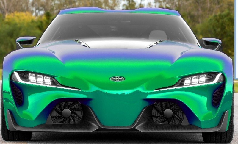 Car-Revs-Daily.com FT-1 Digital Colorizer - 150 Shades of 2016 TOYOTA SUPRA TURBO 8