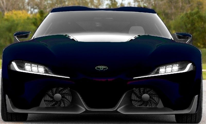 Car-Revs-Daily.com FT-1 Digital Colorizer - 150 Shades of 2016 TOYOTA SUPRA TURBO 80