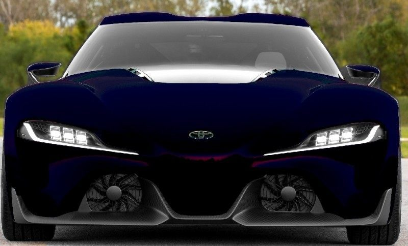 Car-Revs-Daily.com FT-1 Digital Colorizer - 150 Shades of 2016 TOYOTA SUPRA TURBO 81