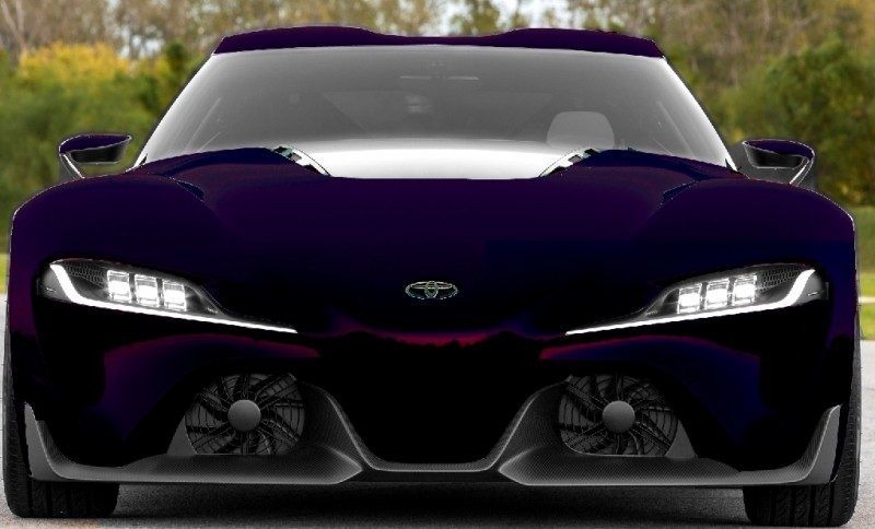 Car-Revs-Daily.com FT-1 Digital Colorizer - 150 Shades of 2016 TOYOTA SUPRA TURBO 82