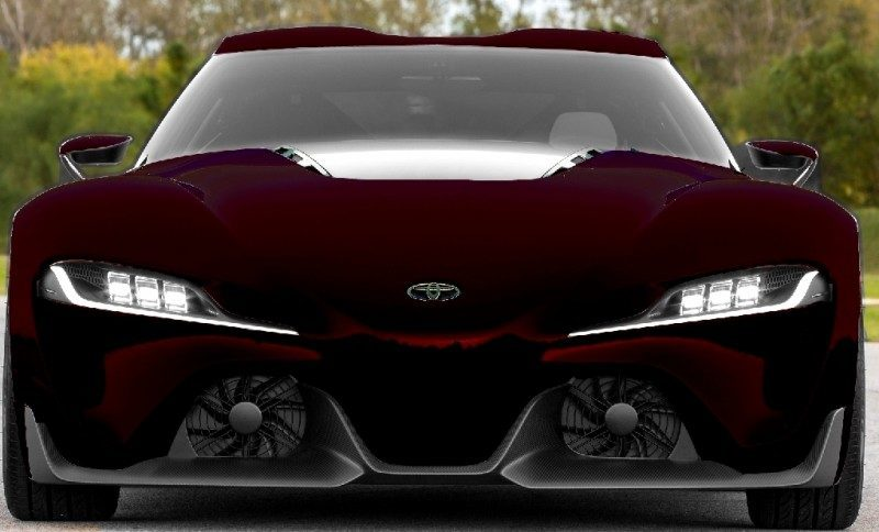 Car-Revs-Daily.com FT-1 Digital Colorizer - 150 Shades of 2016 TOYOTA SUPRA TURBO 84
