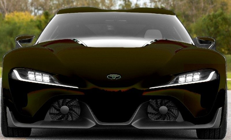 Car-Revs-Daily.com FT-1 Digital Colorizer - 150 Shades of 2016 TOYOTA SUPRA TURBO 86